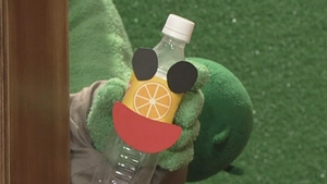サボノミズ博士の研究所『ペットボトルリサイクル』